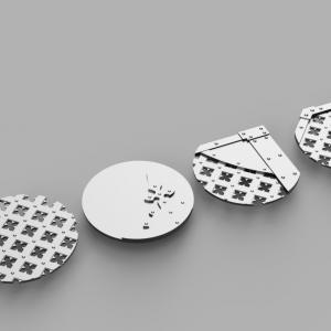 Gothic x4 Designer Blackstone Fortress Model Bases